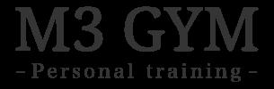 M3 GYM(エムスリージム)栃木県宇都宮市のパーソナルトレーニングジム
